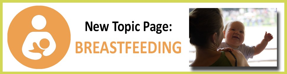 Breastfeeding topic page